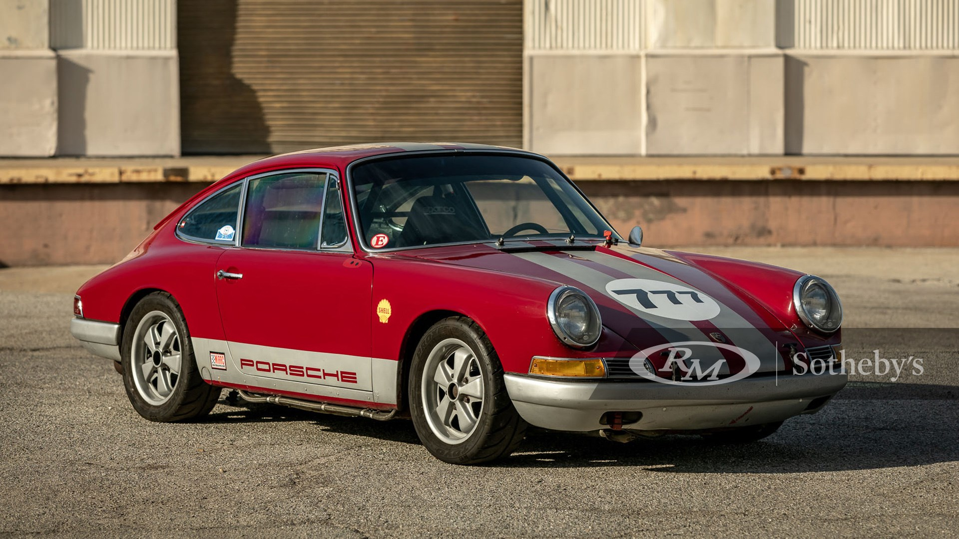 Cranberry red 1967 Porsche 911 Race Car available at RM Sotheby's Online Only Open Roads February Auction 2021