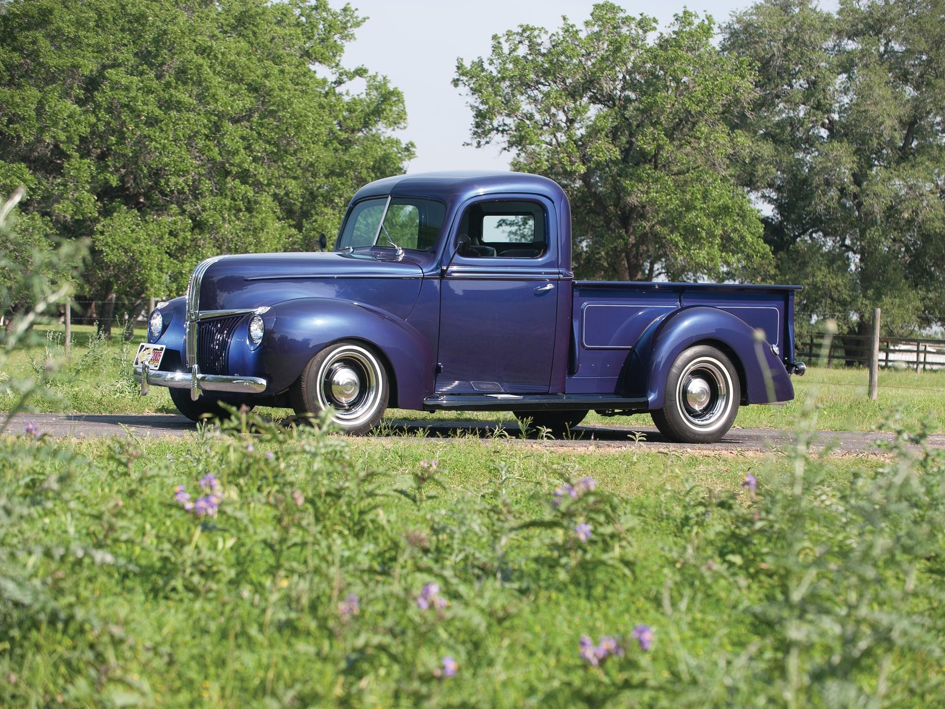 Rm Sothebys 1941 Ford Flareside Custom Pickup Truck The Charlie