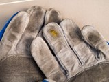Damon Hill Race Worn and Signed Gloves - $