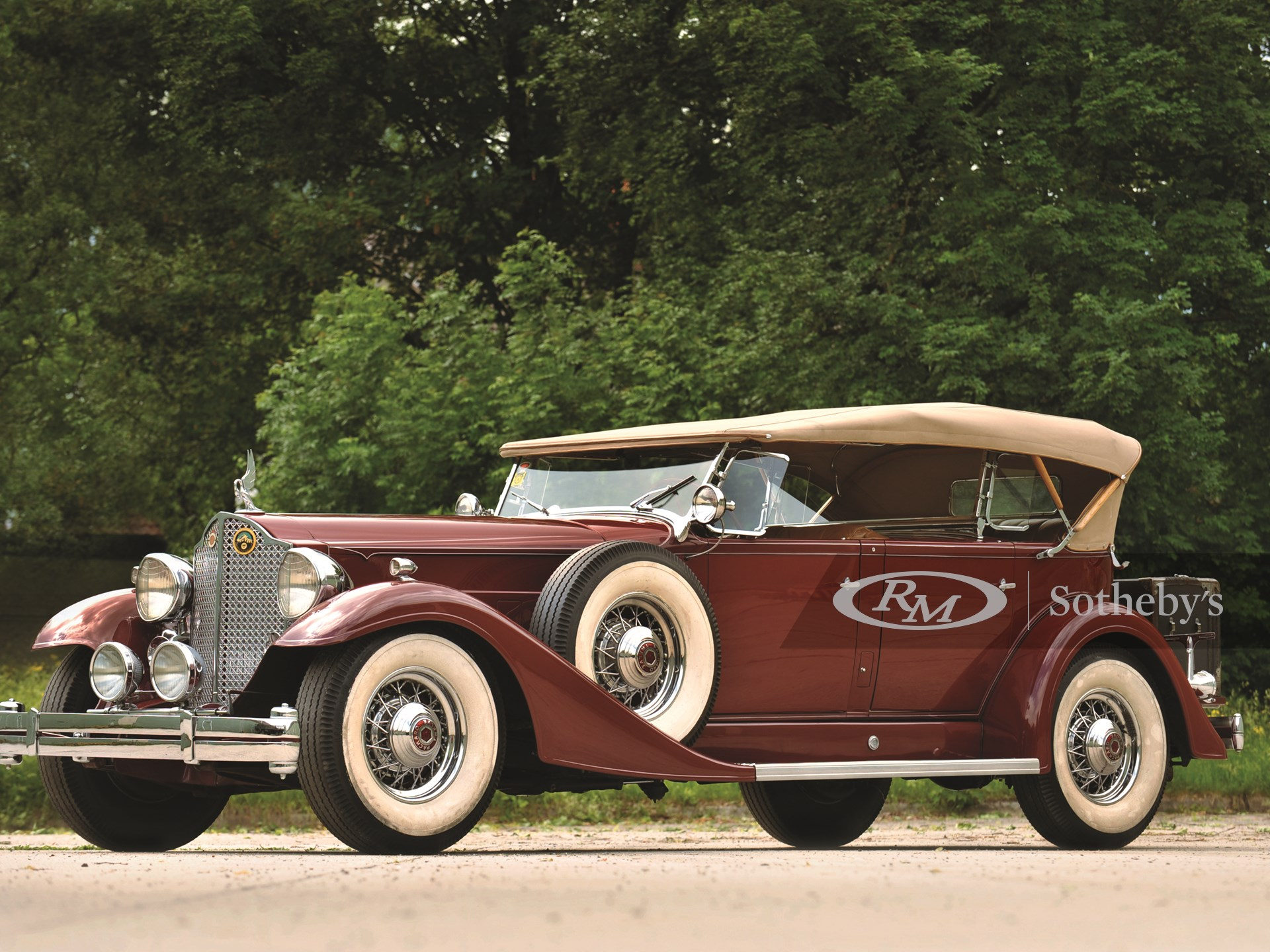 1933 Packard Twelve Five-Passenger Sport Phaeton