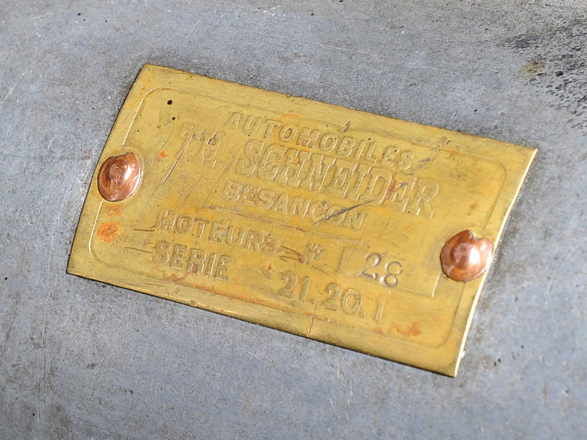 1921 Th. Schneider 4½-Litre Tourer by Domain