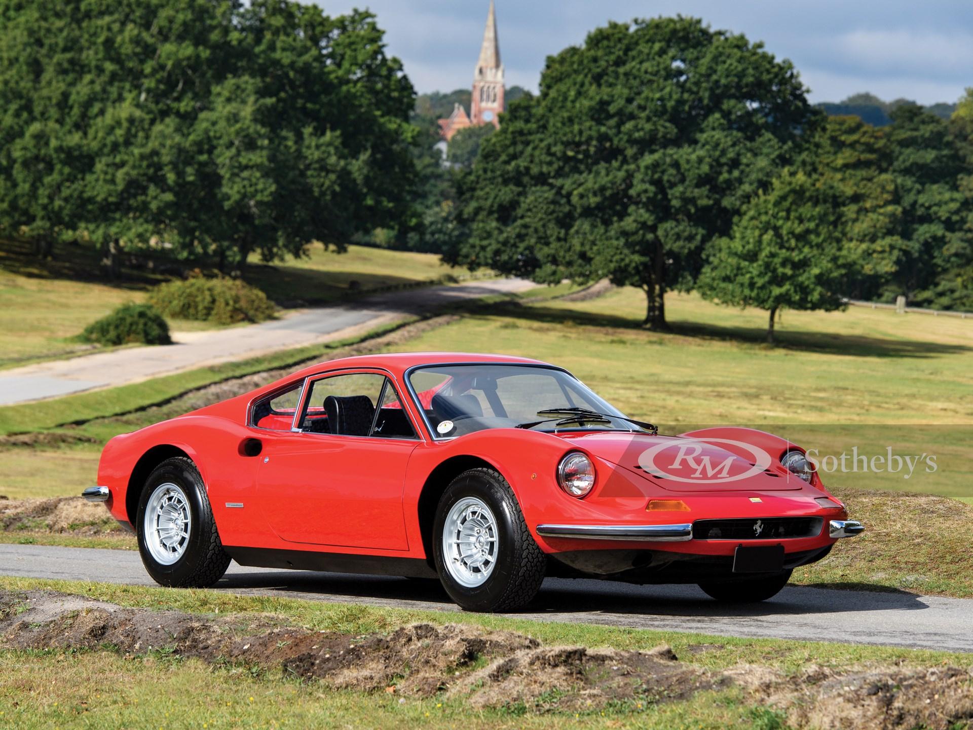 1973 Ferrari Dino 246 Gt By Scaglietti London 2019 Rm Sotheby S