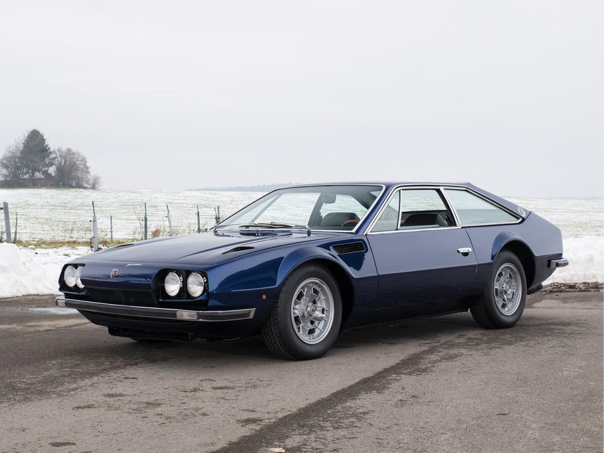 Rm Sotheby S 1971 Lamborghini Jarama 400 Gt Paris 2018