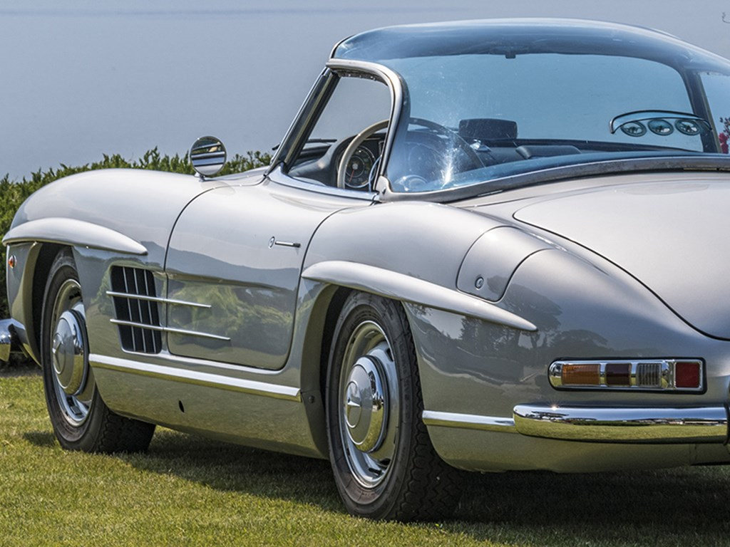 1957 MercedesBenz 300 SL Roadster available at RM Sothebys Milan Live Auction 2021