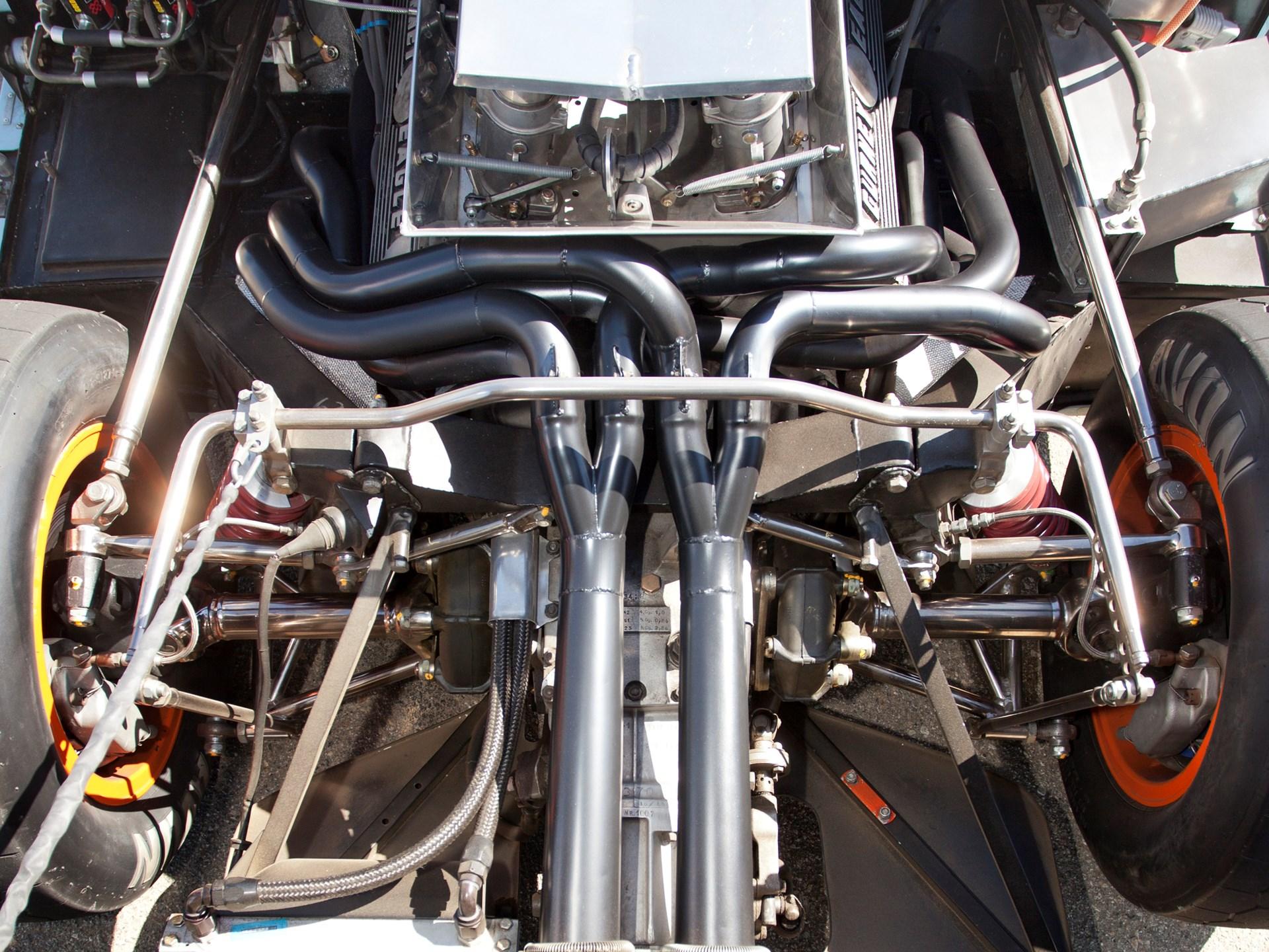 1968 Ford GT40 Gulf/Mirage Lightweight Racing Car