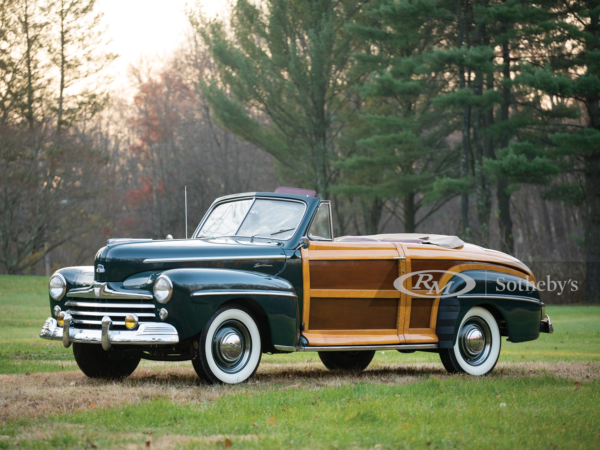1947 Ford Super Deluxe Sportsman Convertible Arizona 2017 Rm Sotheby S