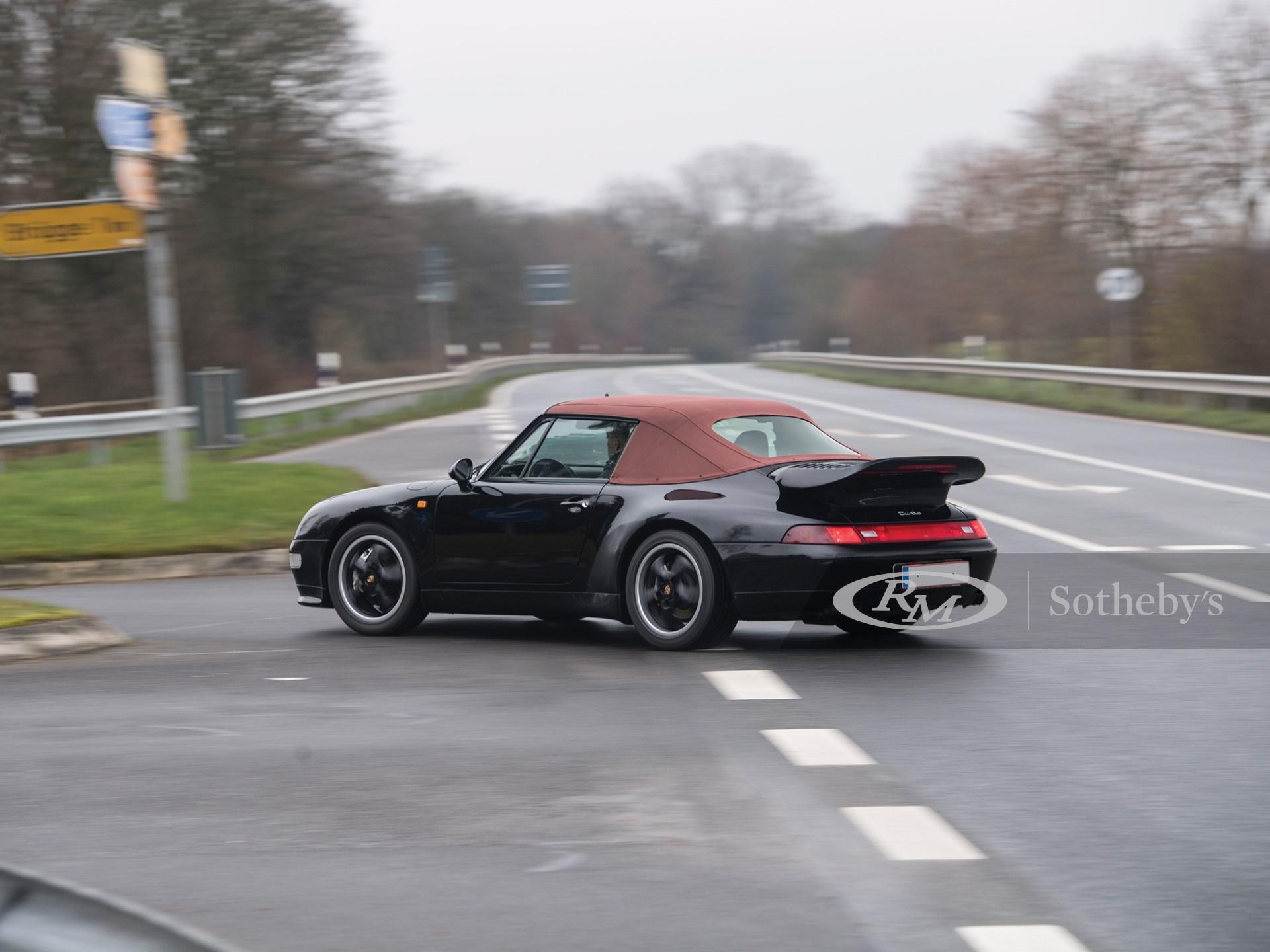 1995 Porsche 911 Turbo Cabriolet  -