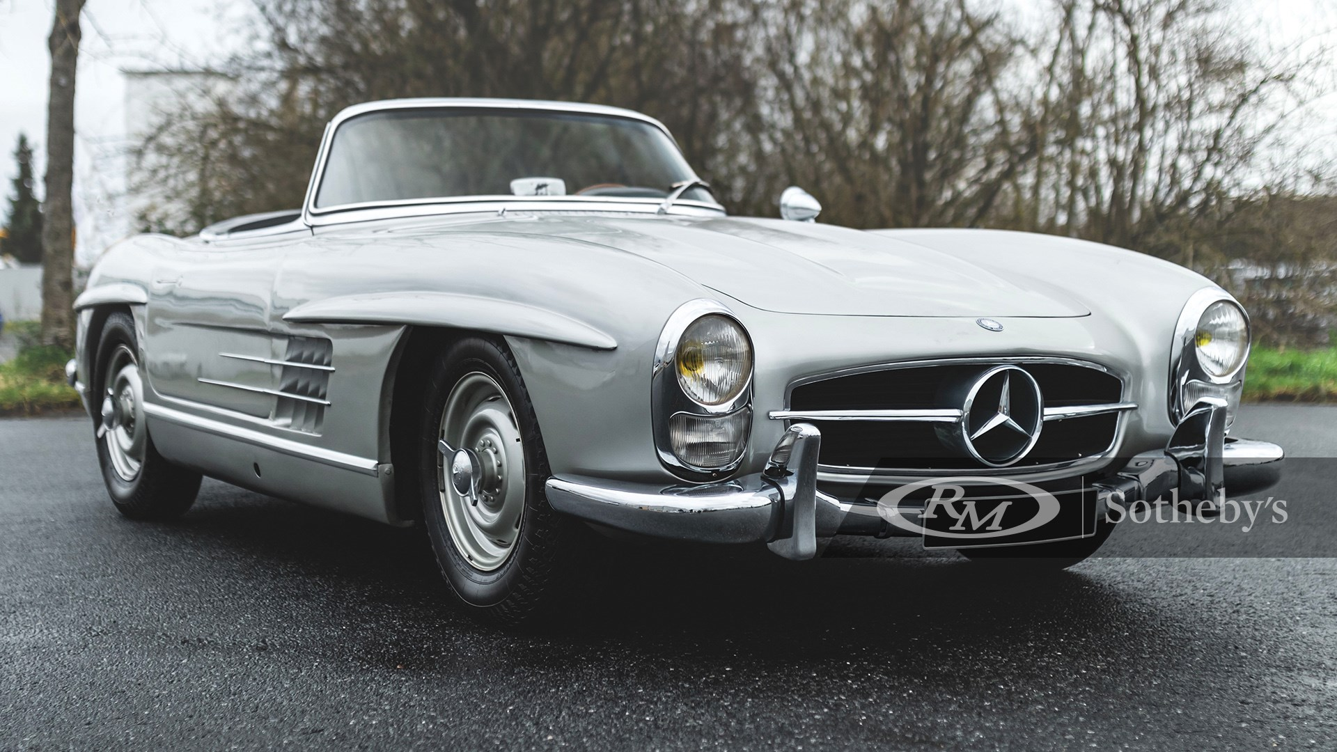 The European Sale Featuring The Petitjean Collection, 1958 Mercedes-Benz 300 SL Roadster