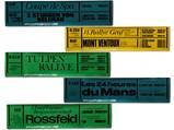 Porsche Racing Result Banner Posters, 1967 - $