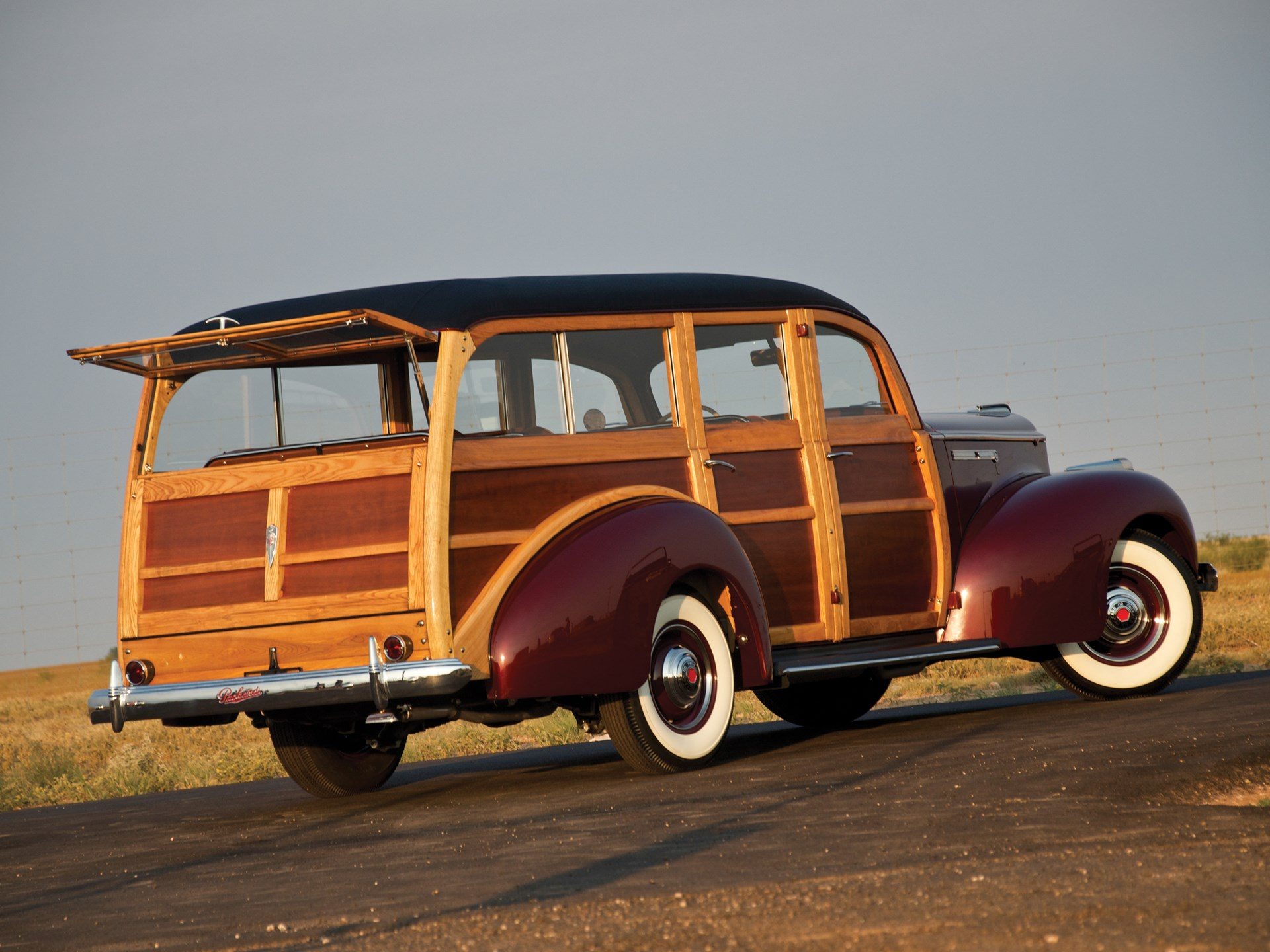1941 Packard One-Ten Deluxe Station Wagon by Hercules