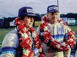 1983 Porsche 956 Group C  - $Warwick and Fitzpatrick celebrate their win at Brands Hatch in 1983.