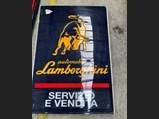 Lamborghini Dealership Sign, ca. 1990s - $