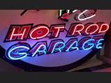 Hot Rod Garage Custom-Made Neon Tin Sign - $