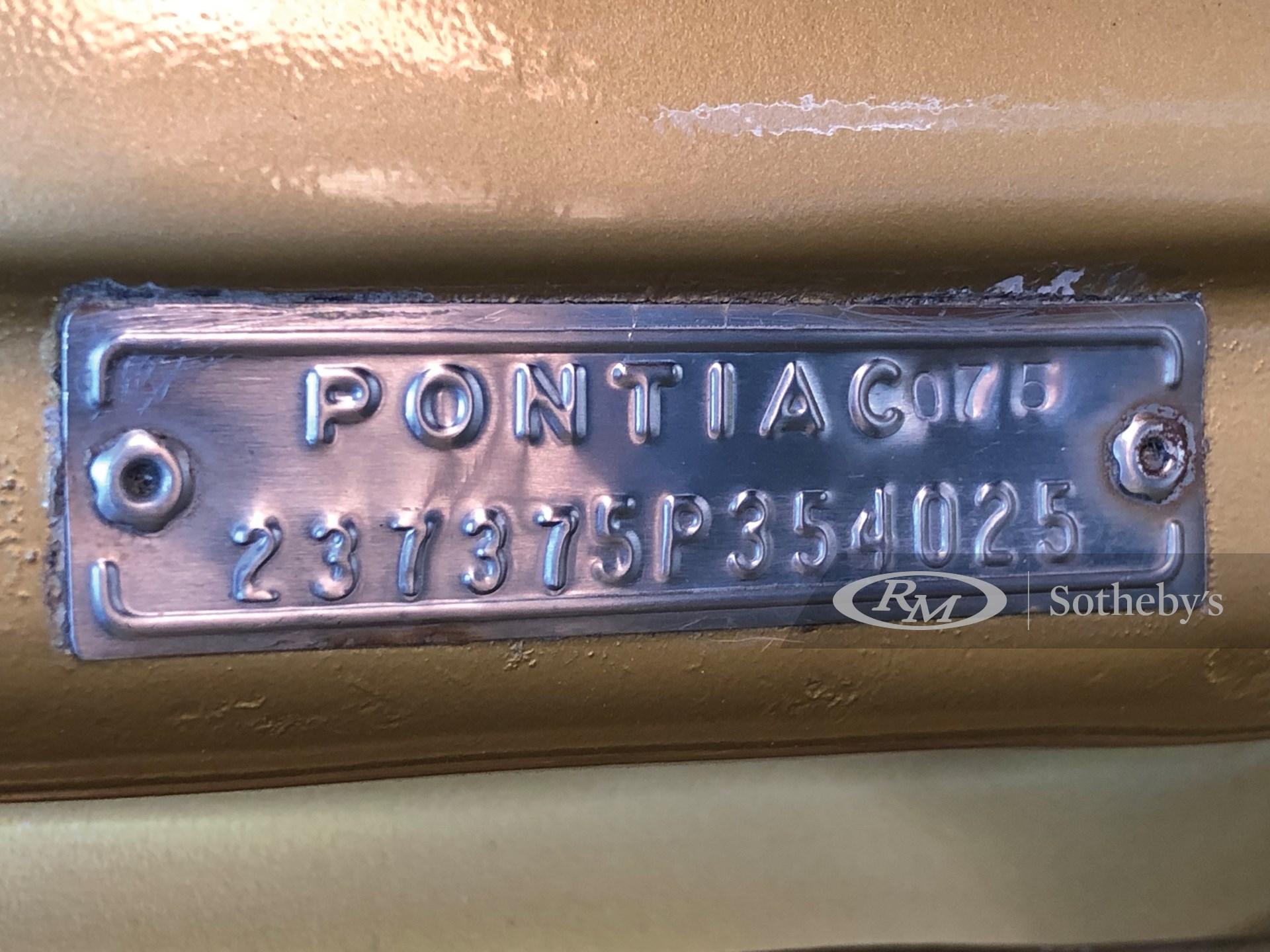 1965 Pontiac Tempest LeMans GTO Hardtop  -