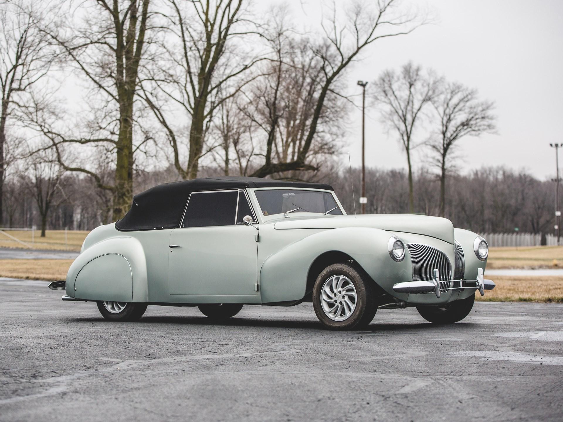 rm sotheby 39 s 1940 lincoln continental cabriolet custom. Black Bedroom Furniture Sets. Home Design Ideas