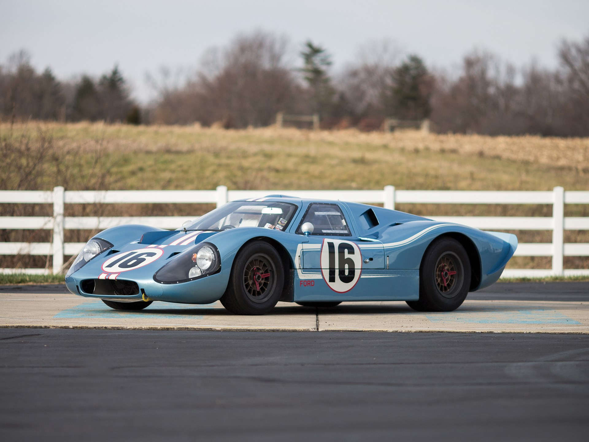 1967 Ford GT40 Mk IV Continuation by Kar Kraft