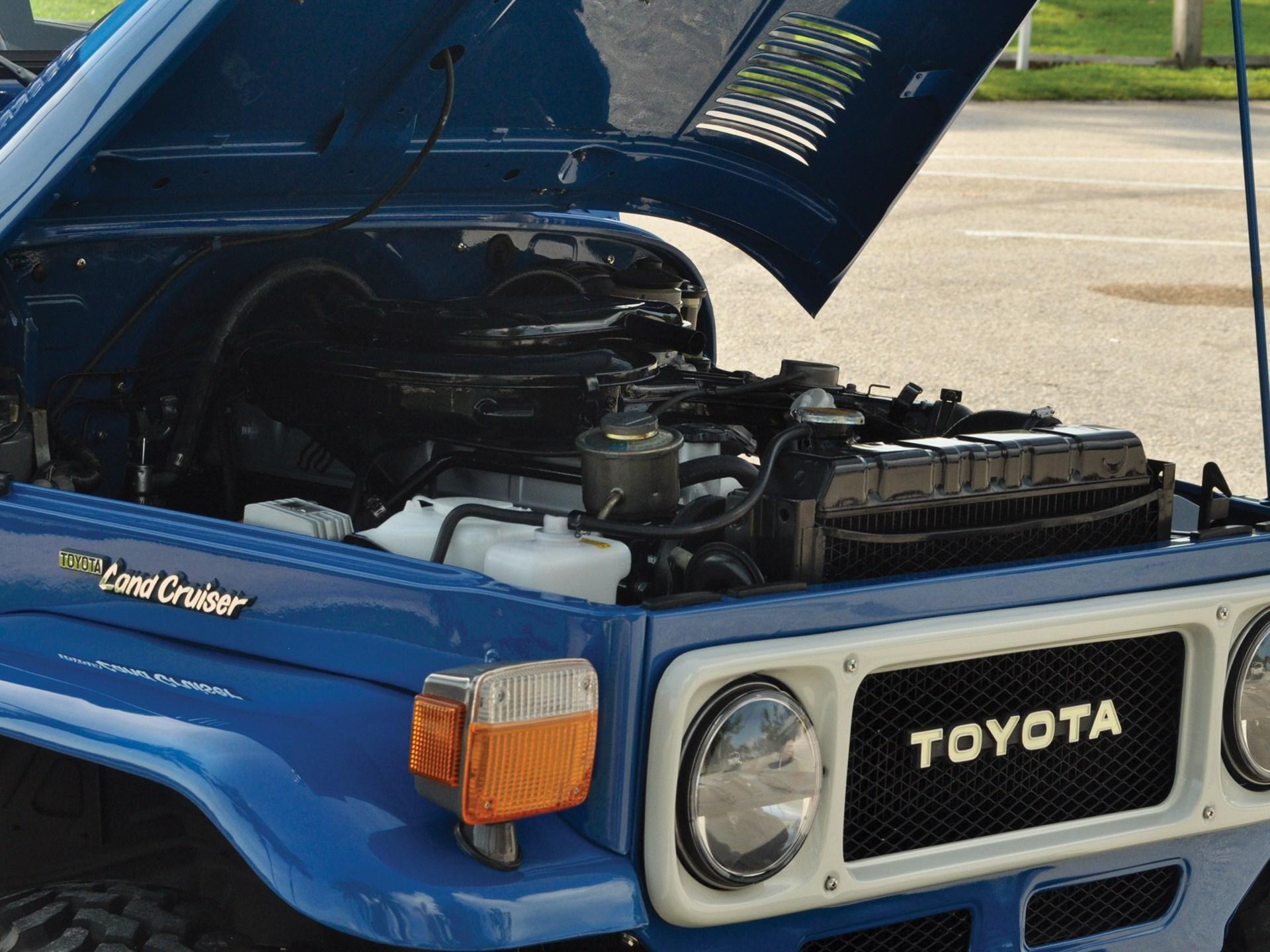 Rm Sothebys 1982 Toyota Fj40 Land Cruiser Hershey 2018 1960s Options