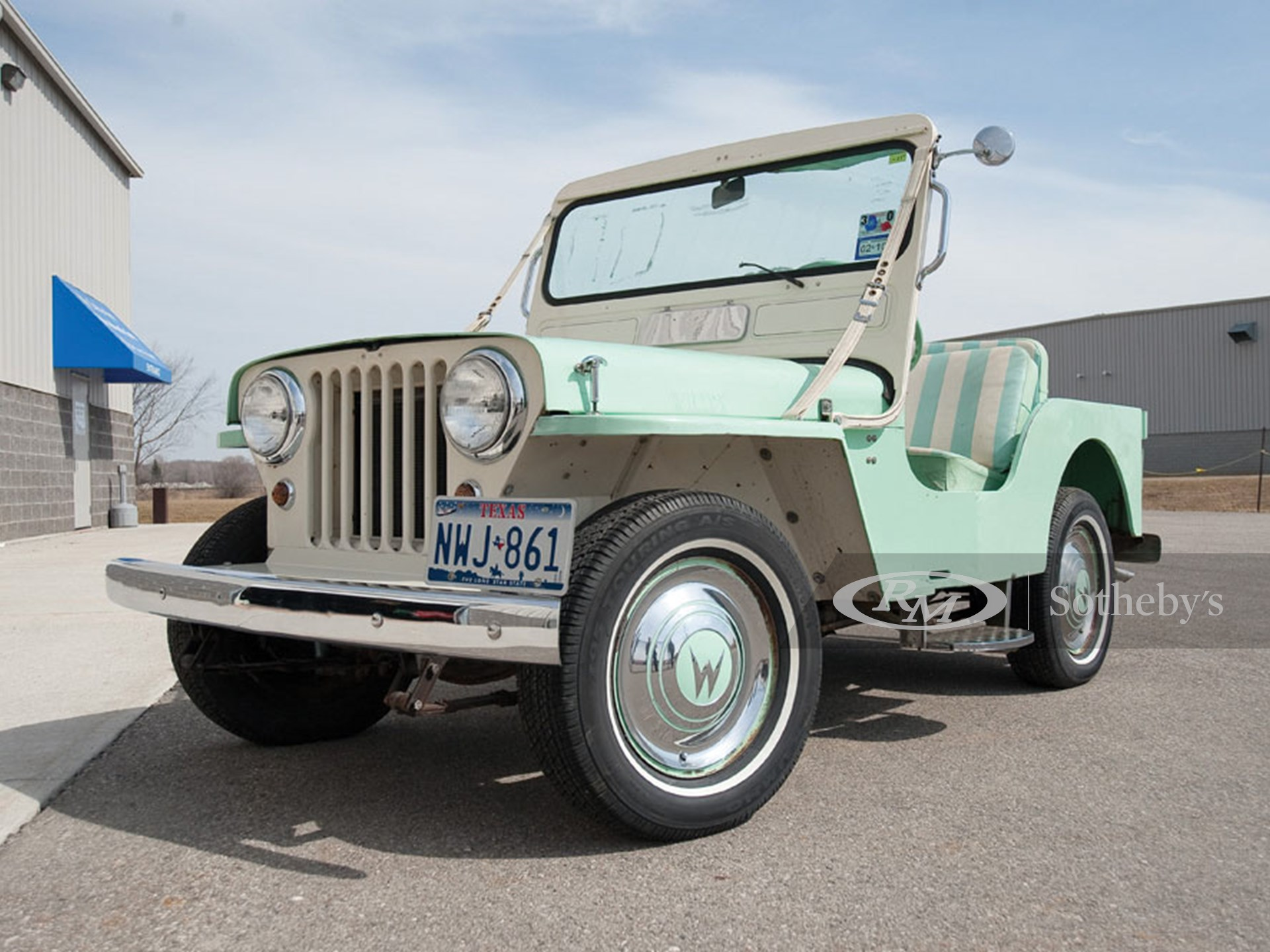 1960 Willys Jeep Gala