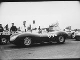 1955 Jaguar D-Type  - $Starr Calvert racing our D-Type at the Rose Cup Races in Oregon on June 11, 1961. Sitting on the front row of the starting grid, XKD 558 was competing against Stan Burnett's Chevrolet Special and Jerry Grant's Ferrari 250 Testa Rossa (0704 TR).