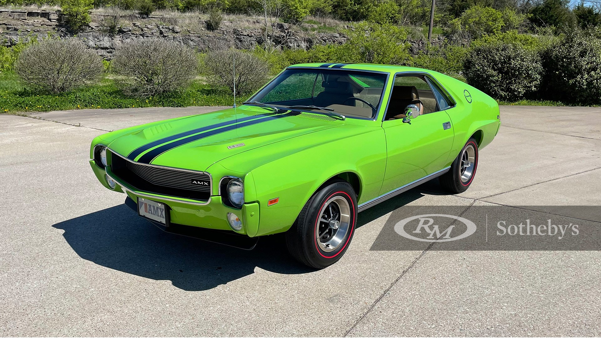 1969 AMC AMX 500 Special available at RM Sotheby's Online Only Open Roads April Auction 2021