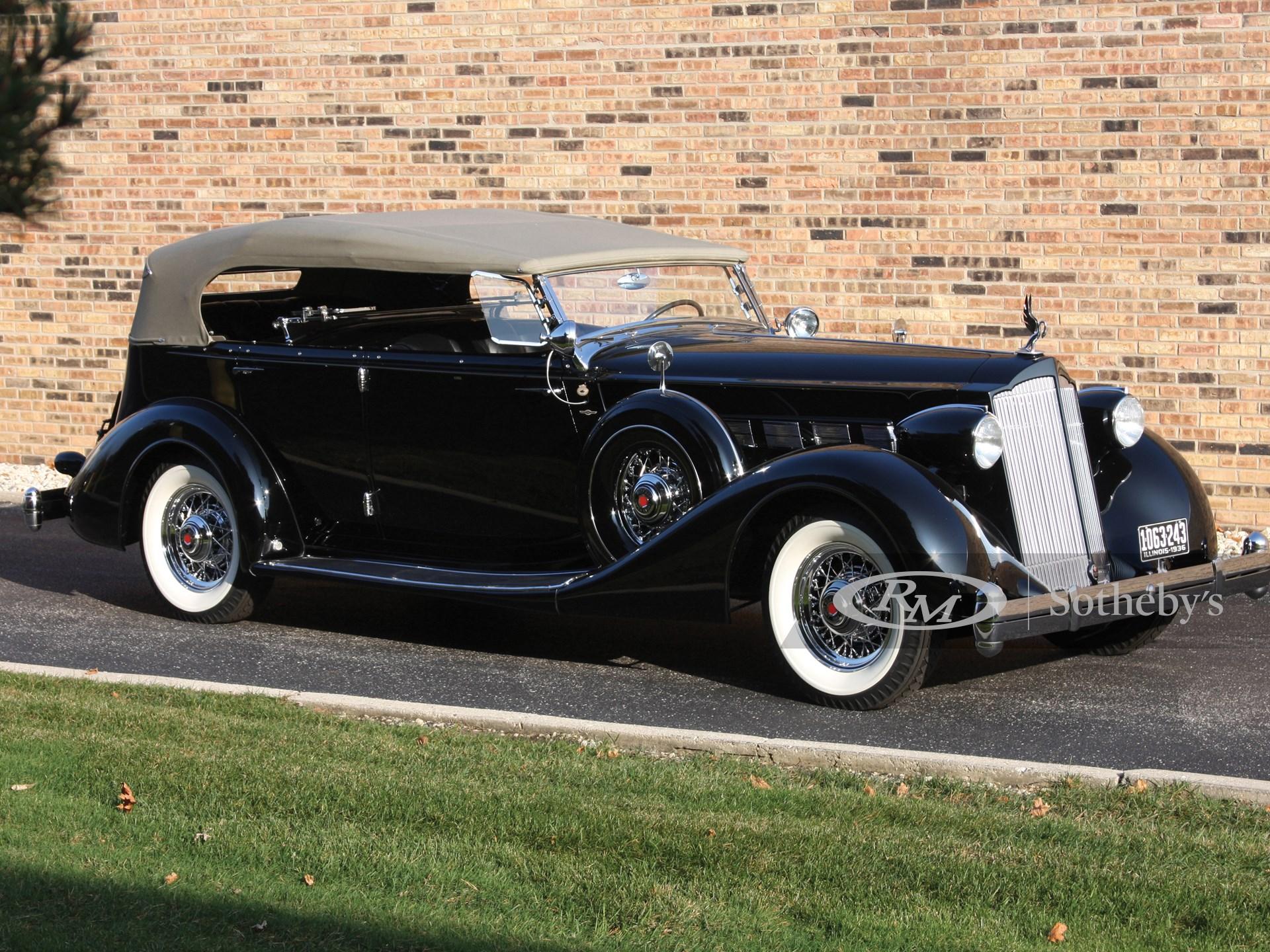 1936 Packard Super Eight Dual Cowl Phaeton