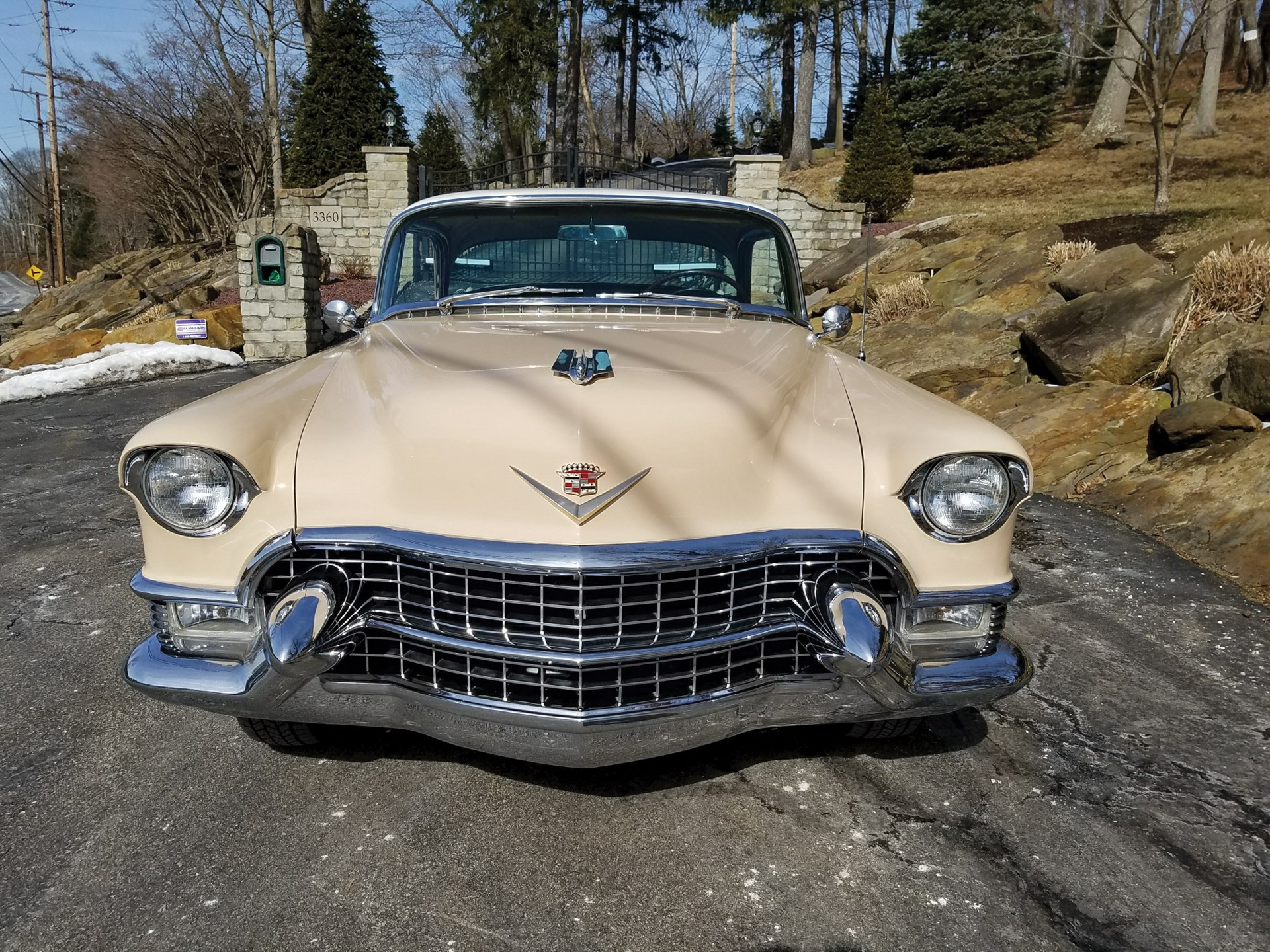 Rm Sothebys 1955 Cadillac Series 62 Coupe Deville Fort