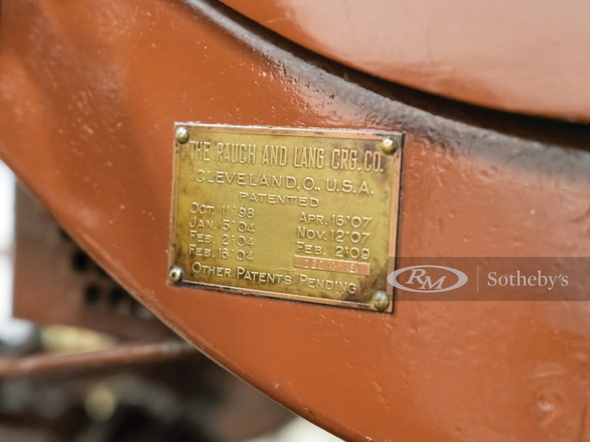 1909 Rauch & Lang Electric Coupe  -