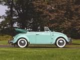 1962 Volkswagen Beetle Convertible  - $