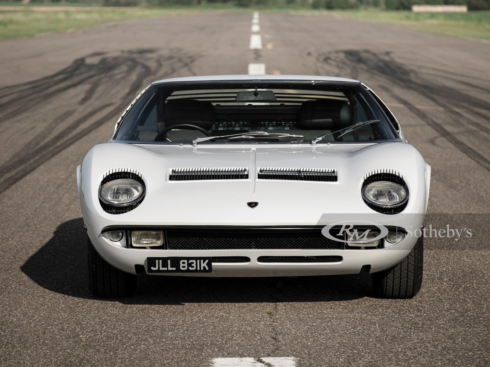 1971 Lamborghini Miura P400 S by Bertone -