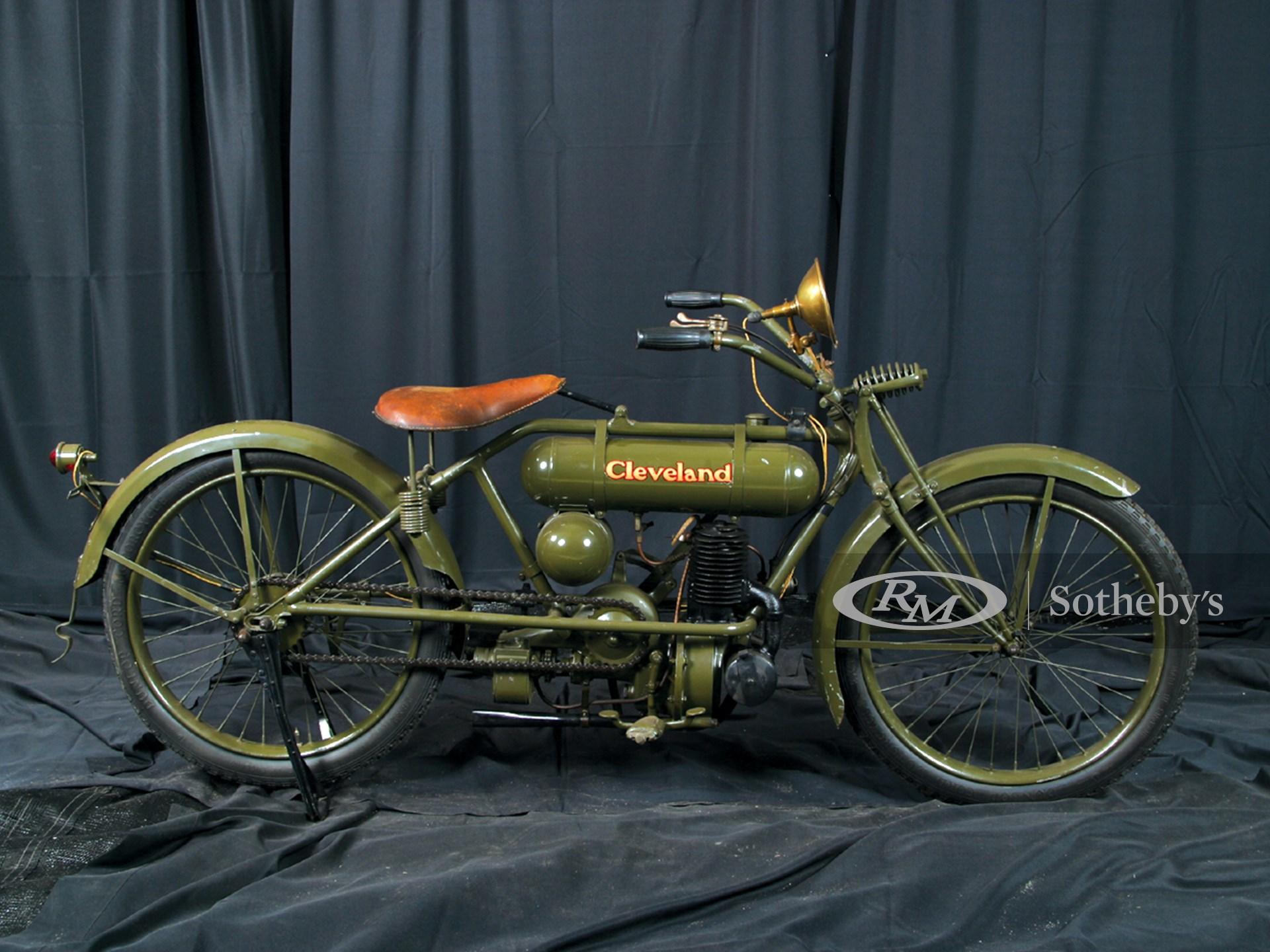 1916 Cleveland SingleCylinder Motorcycle