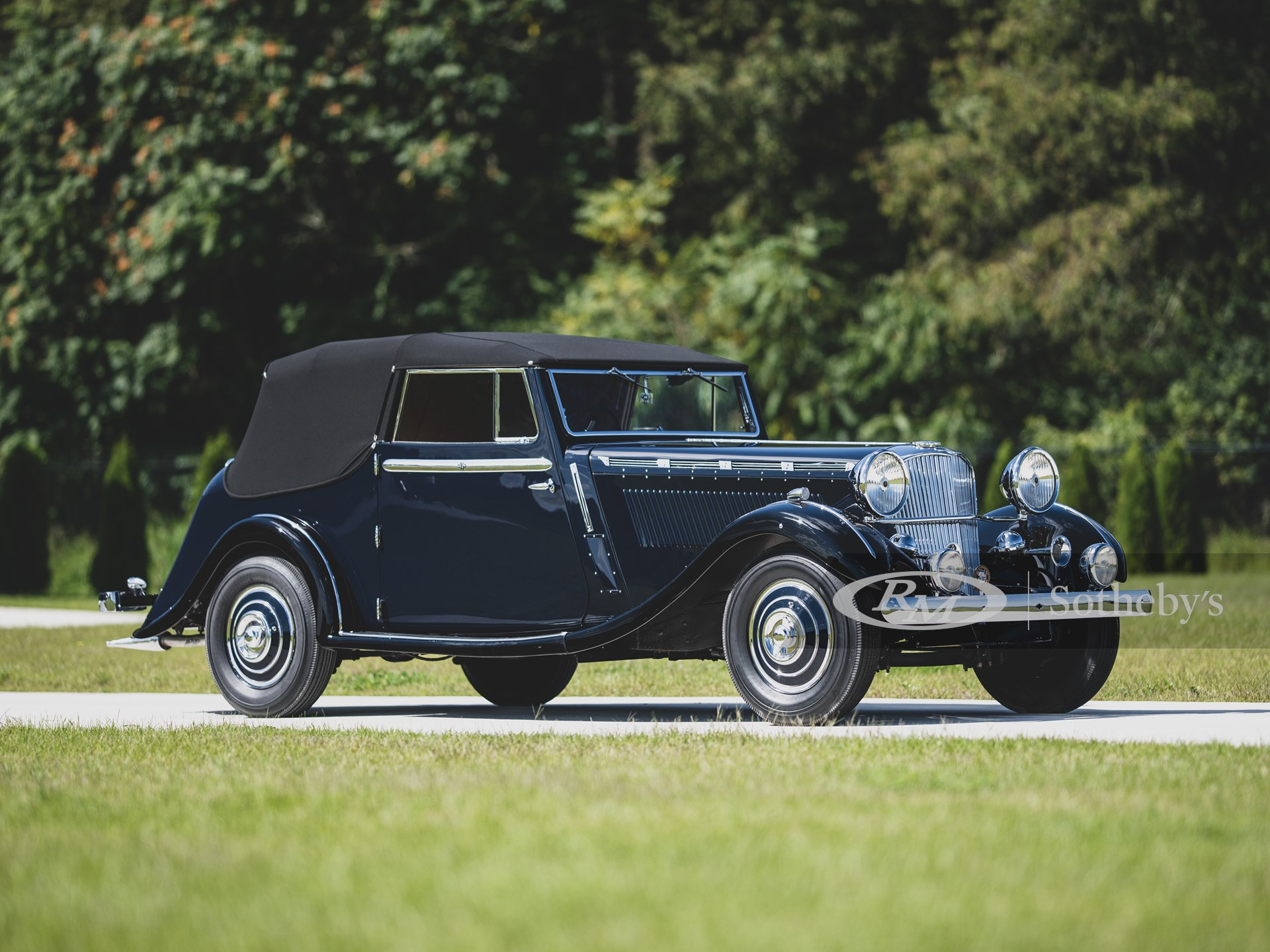 1937 Brough Superior 3½-Litre 'Dual Purpose' Drophead Coupe by Atcherley