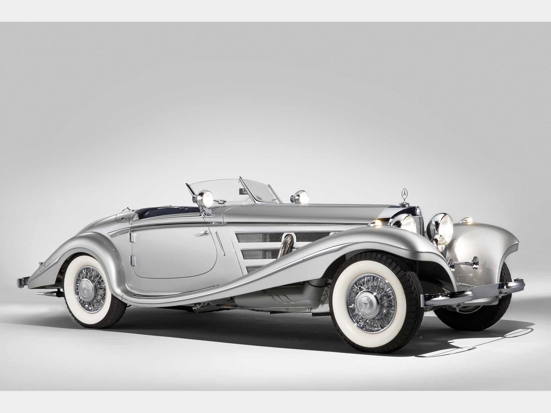 1937 Mercedes Benz 540 K Spezial Roadster By Sindelfingen