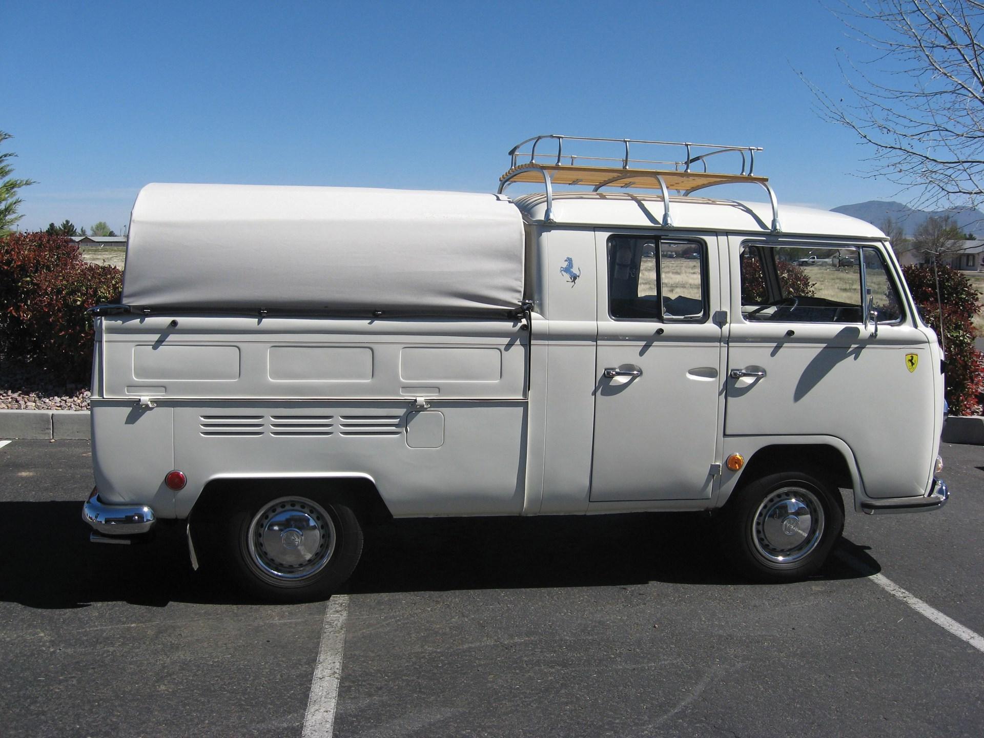 Rm Sothebys 1968 Volkswagen Type 2 Double Cab Pickup Truck Chevrolet Crew
