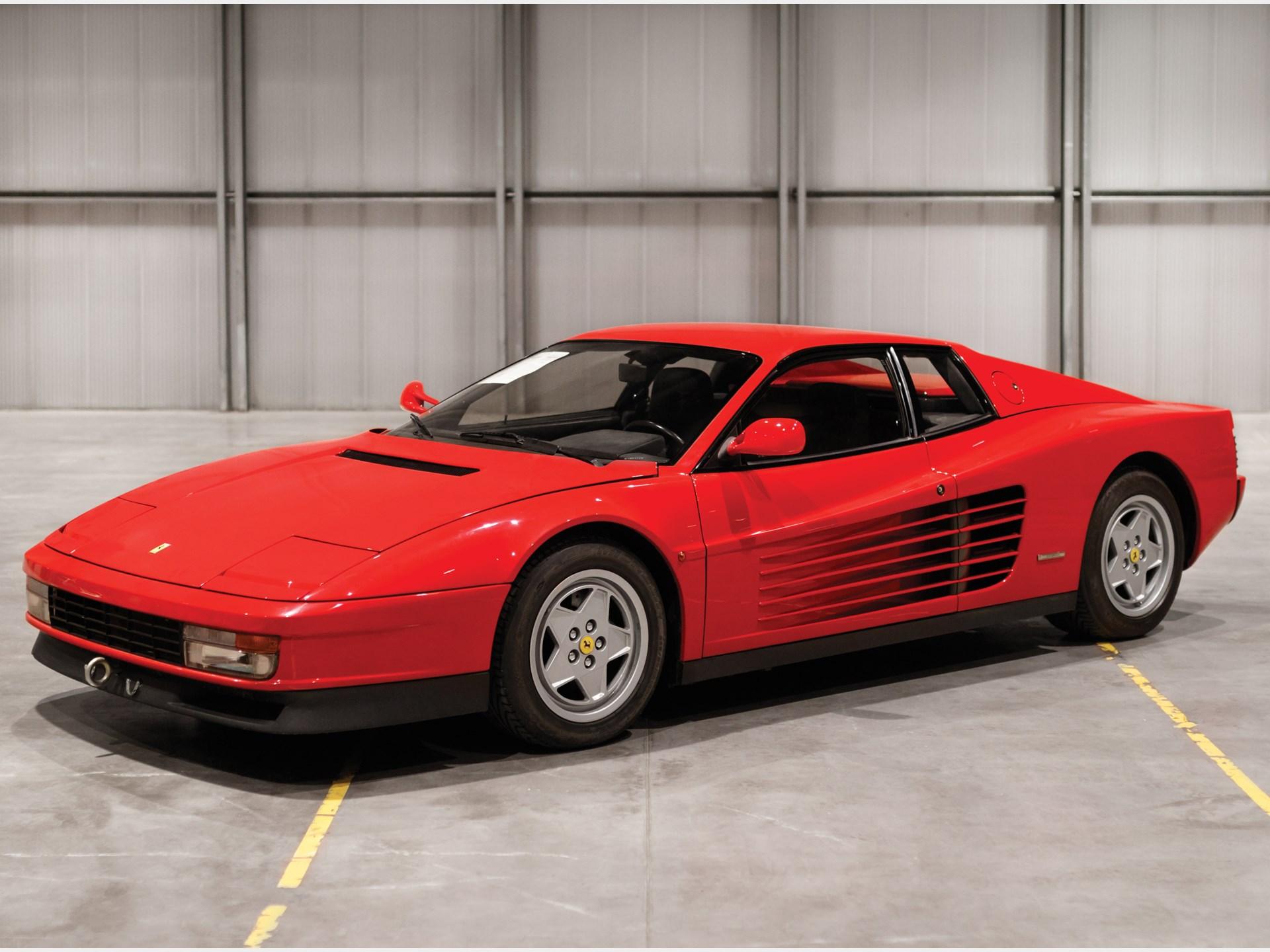RM Sotheby's - 1992 Ferrari Testarossa   Paris 2018