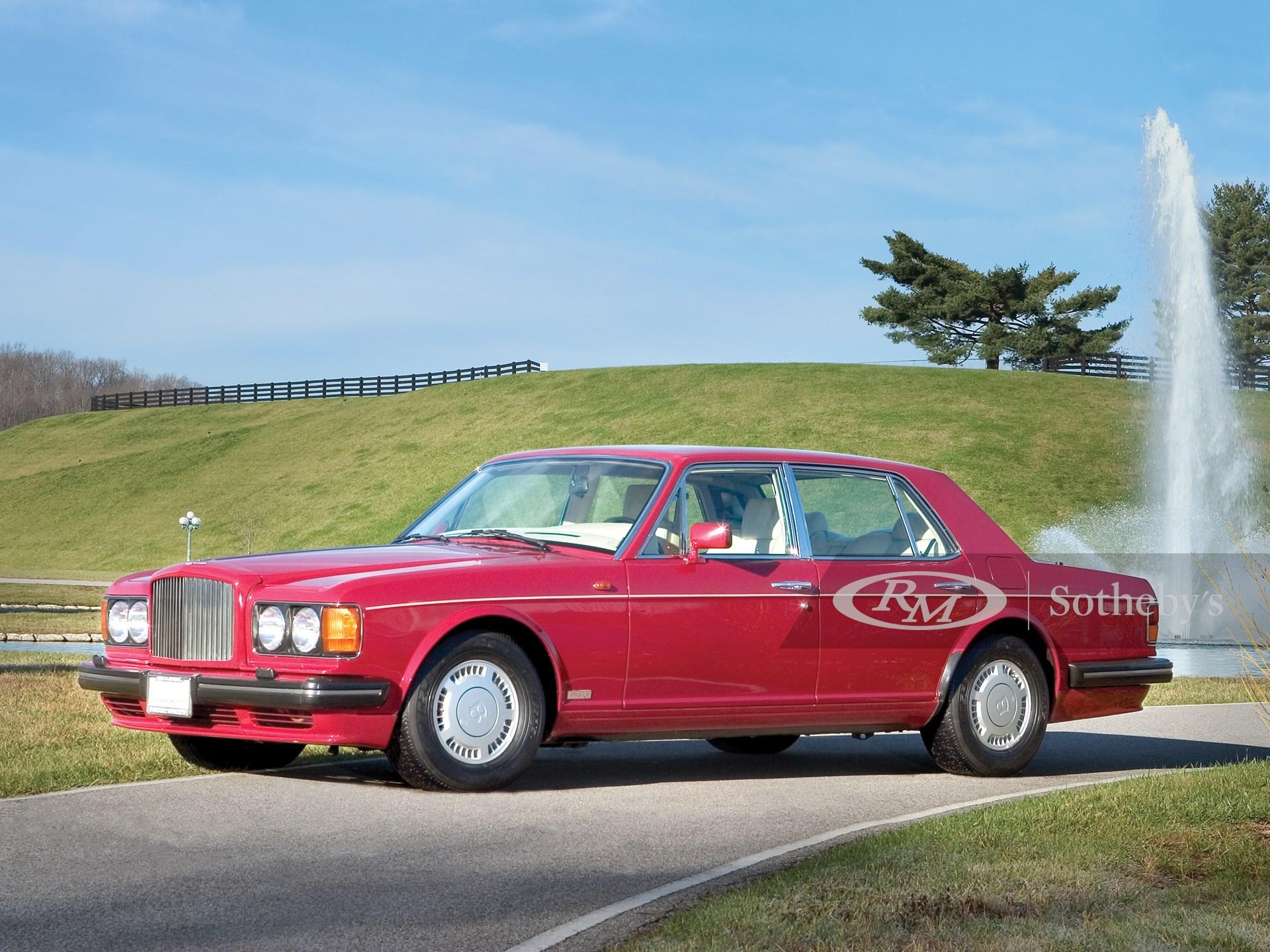 1989 Bentley Turbo R Sedan