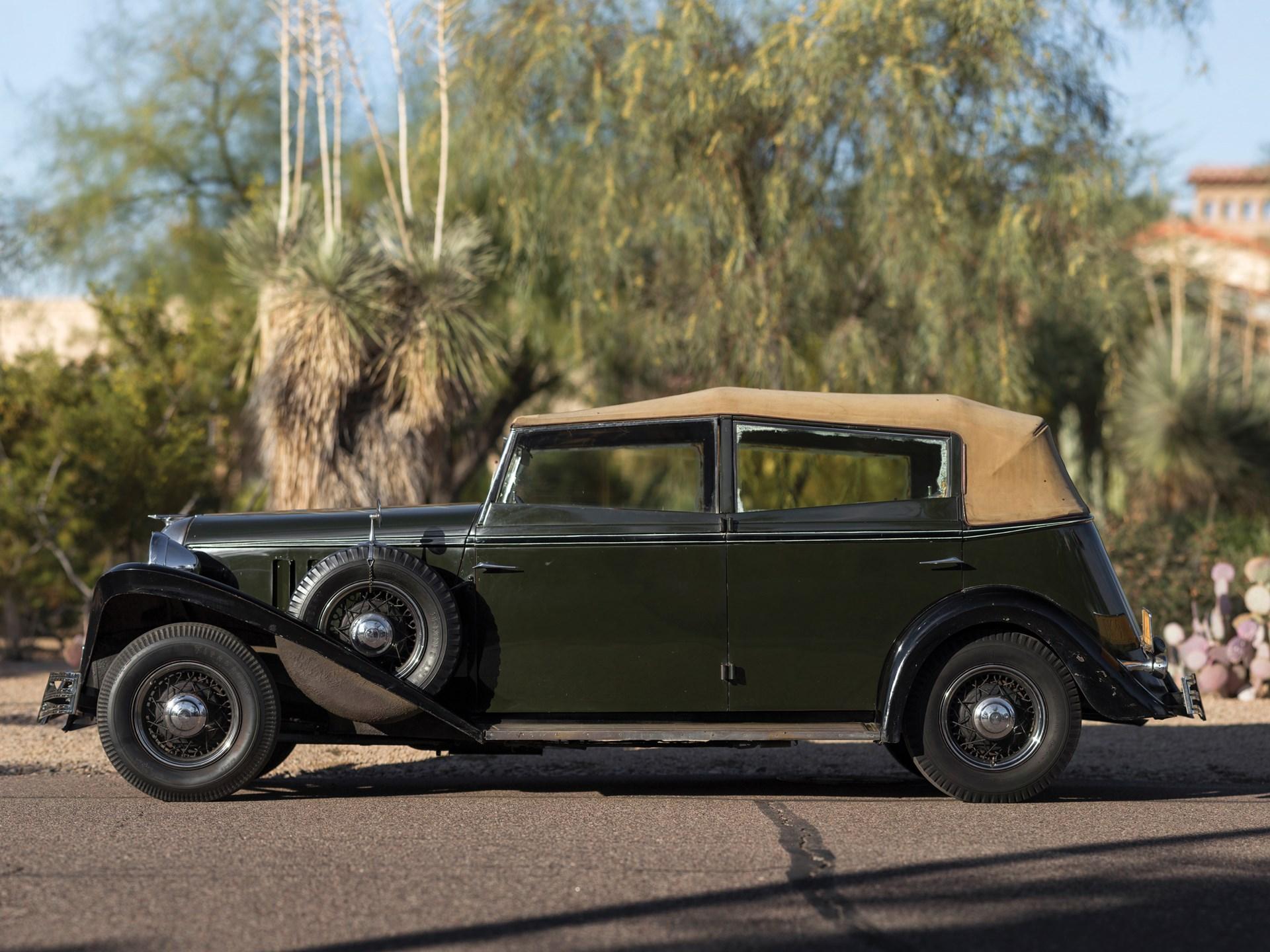 1934 Brewster-Ford Convertible Sedan
