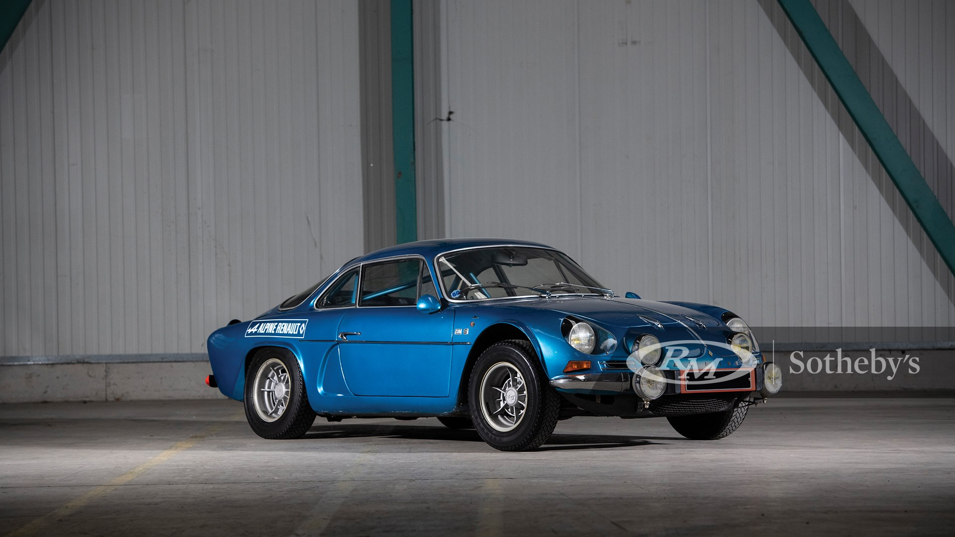 The European Sale Featuring The Petitjean Collection, 1971 Alpine-Renault A110 1600 S