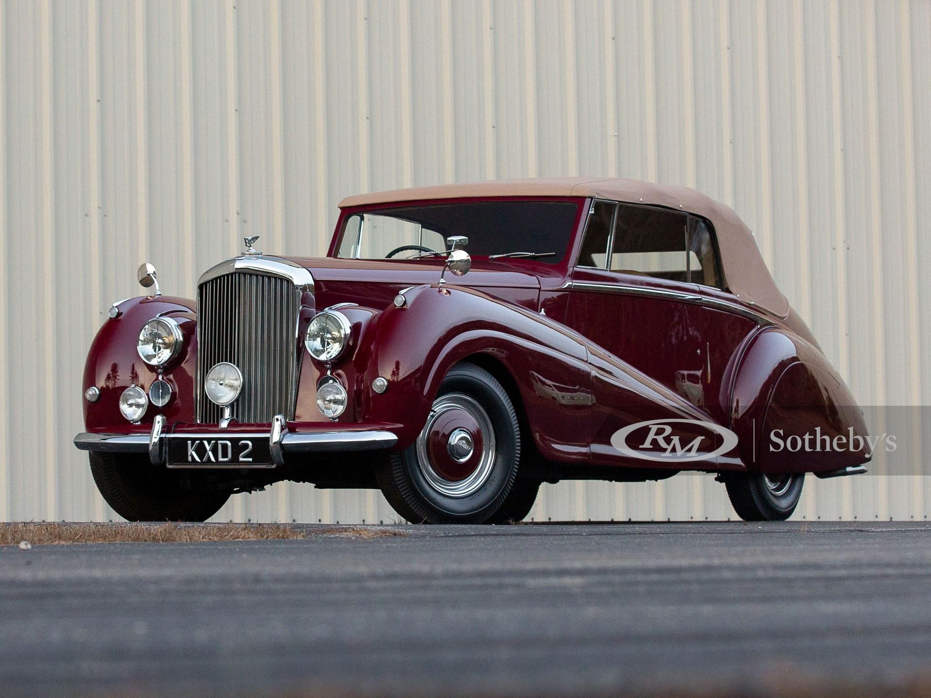 1952 Bentley Mark VI Drophead Coupe by Park Ward
