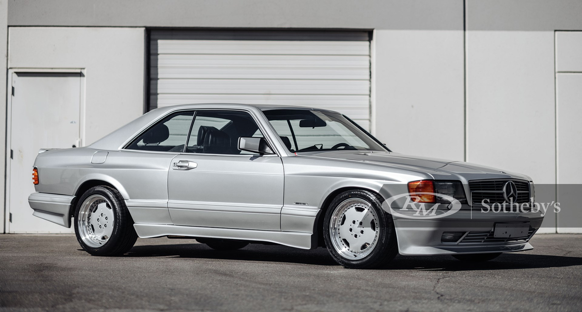RM Sotheby's Arizona Scottsdale 2021, Blog, 1989 Mercedes-Benz 560 SEC AMG 6.0 Wide-body
