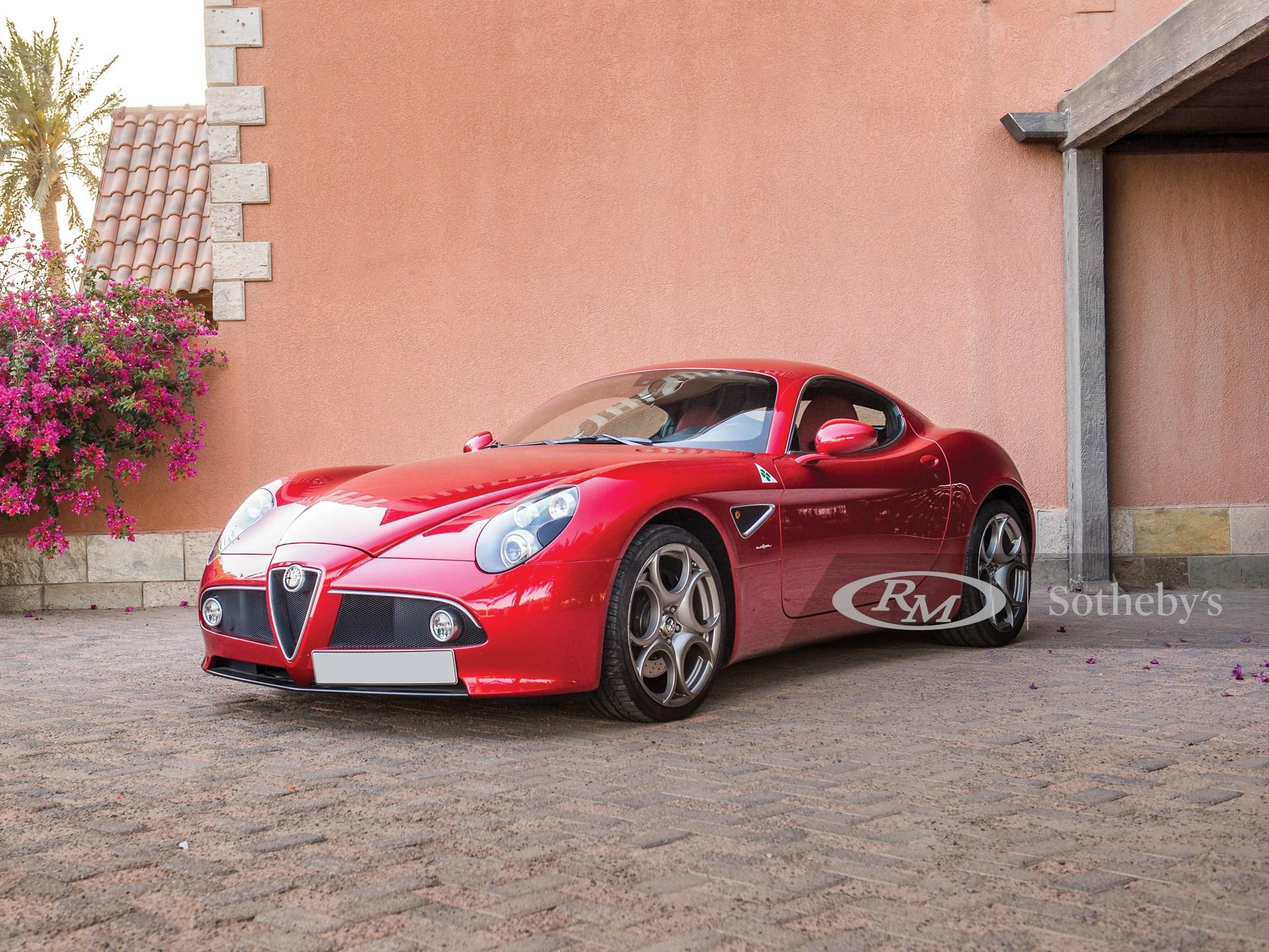 2008 Alfa Romeo 8C Competizione  -