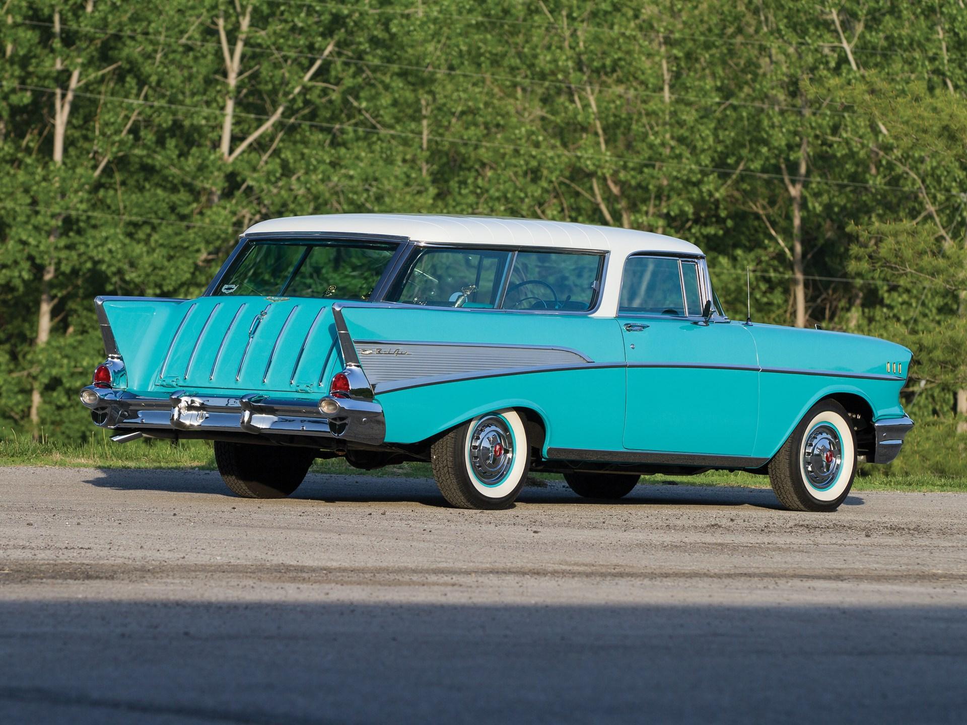 Rm Sothebys 1957 Chevrolet Bel Air Nomad Station Wagon Motor 1966