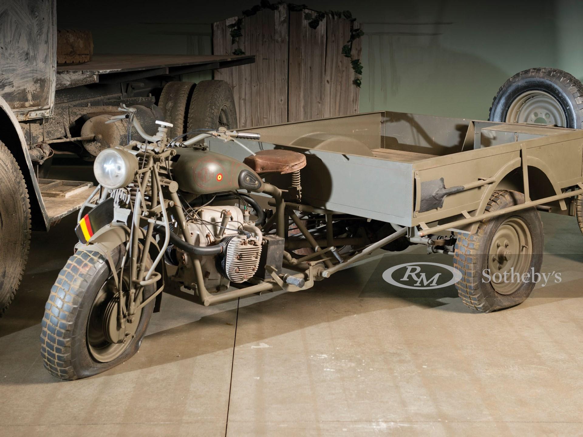 1939 Fabrique Nationale Tricar 12T3