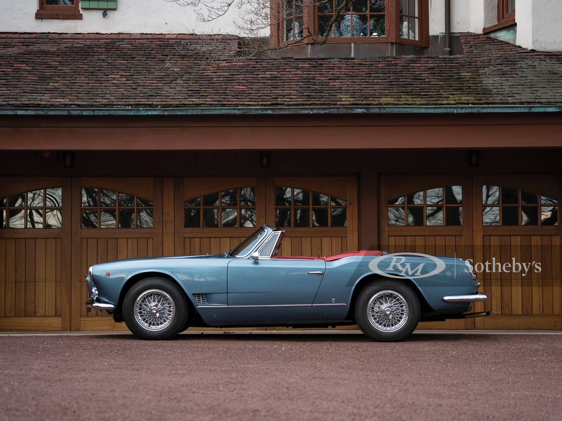 1964 Maserati 3500 GTi Spyder by Vignale | Amelia Island ...