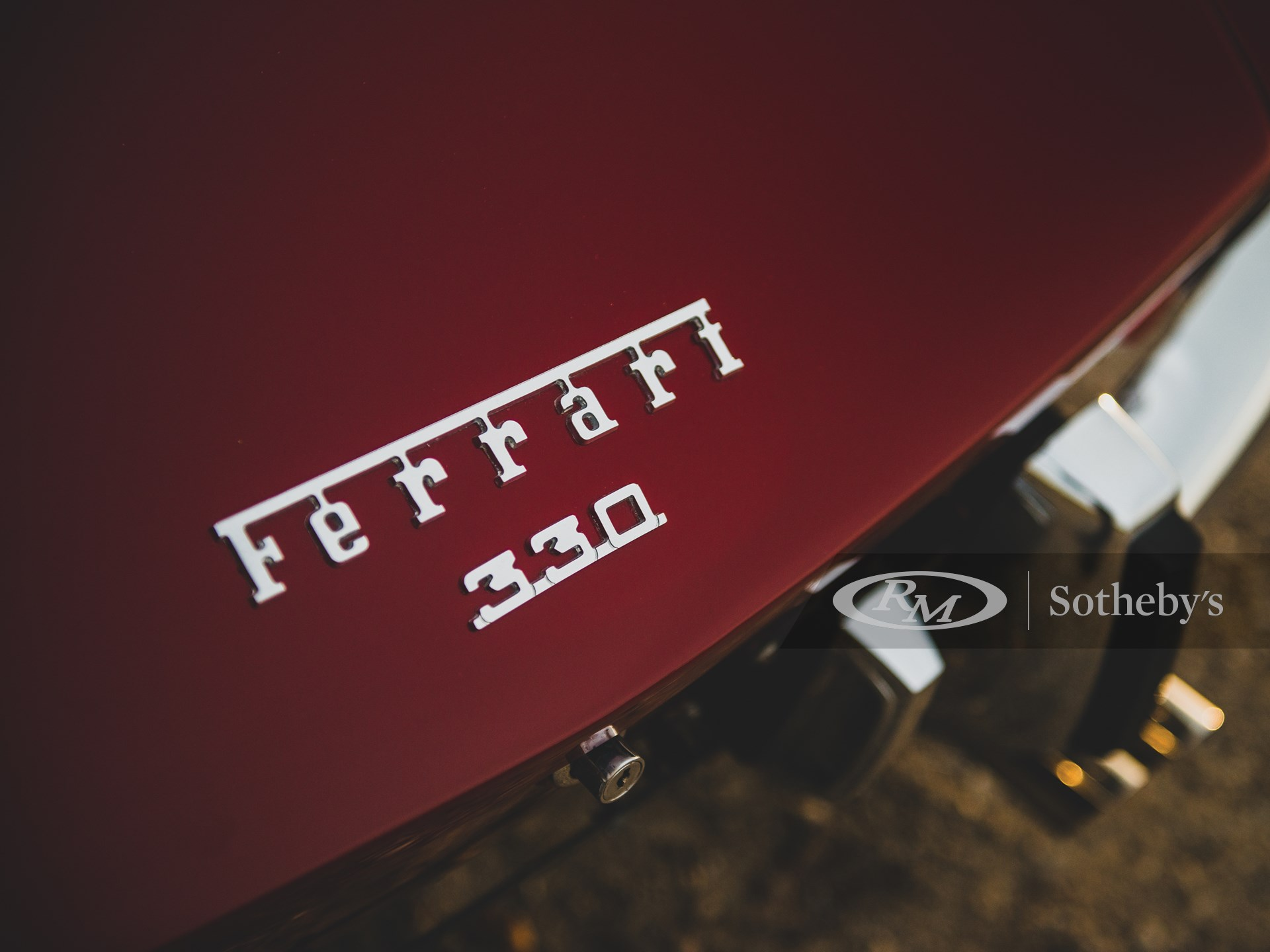 1967 Ferrari 330 GTS by Pininfarina -