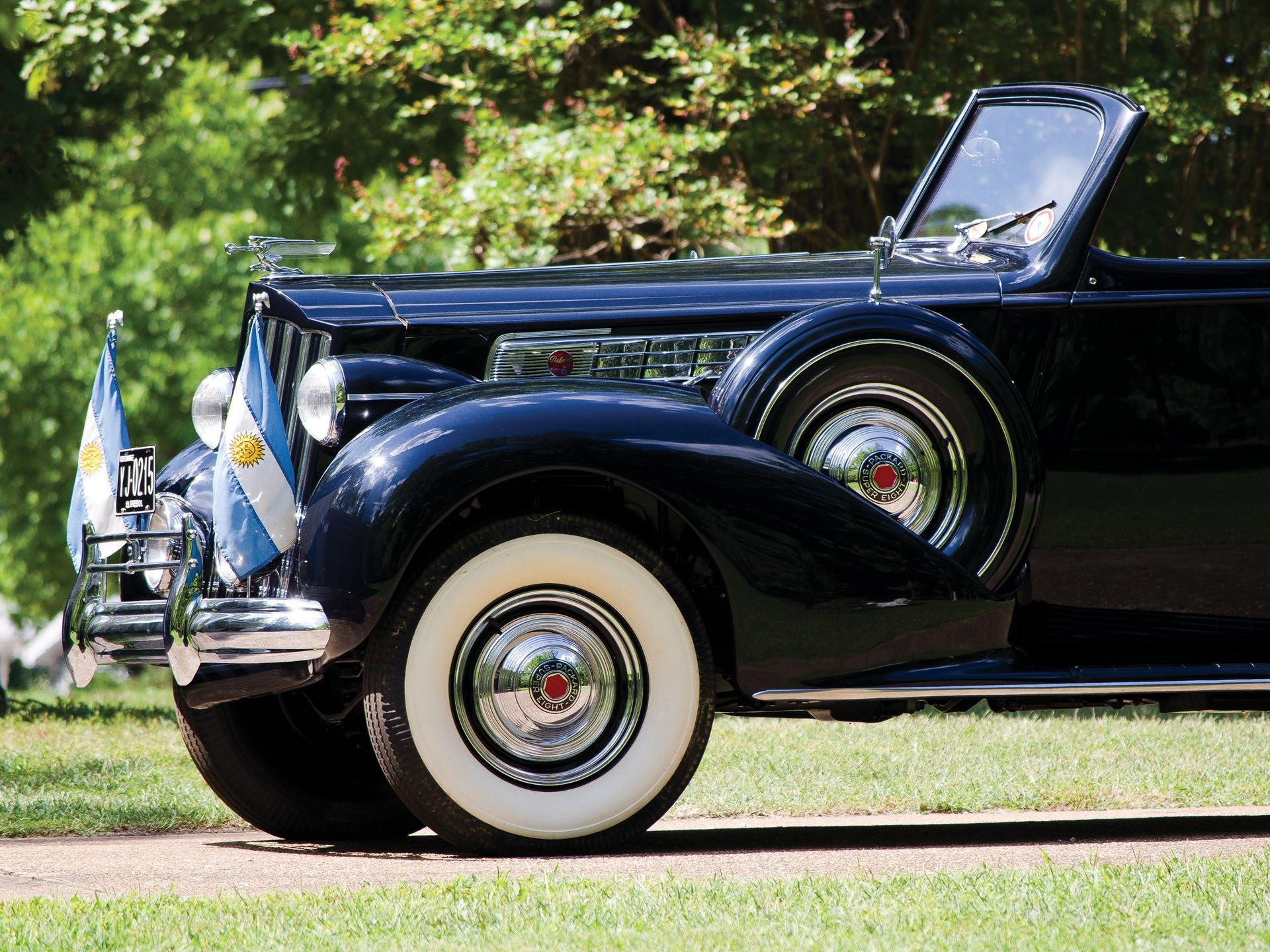 1939 Packard Super Eight Phaeton by Derham