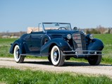 1935 Cadillac V-8 Convertible Coupe by Fisher - $