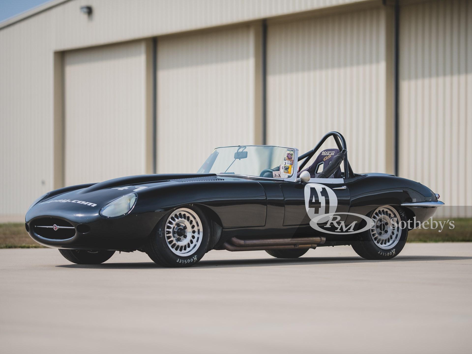 1962 Jaguar E-Type Series 1 Race Car