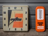 Fram Clock and Thermometer - $