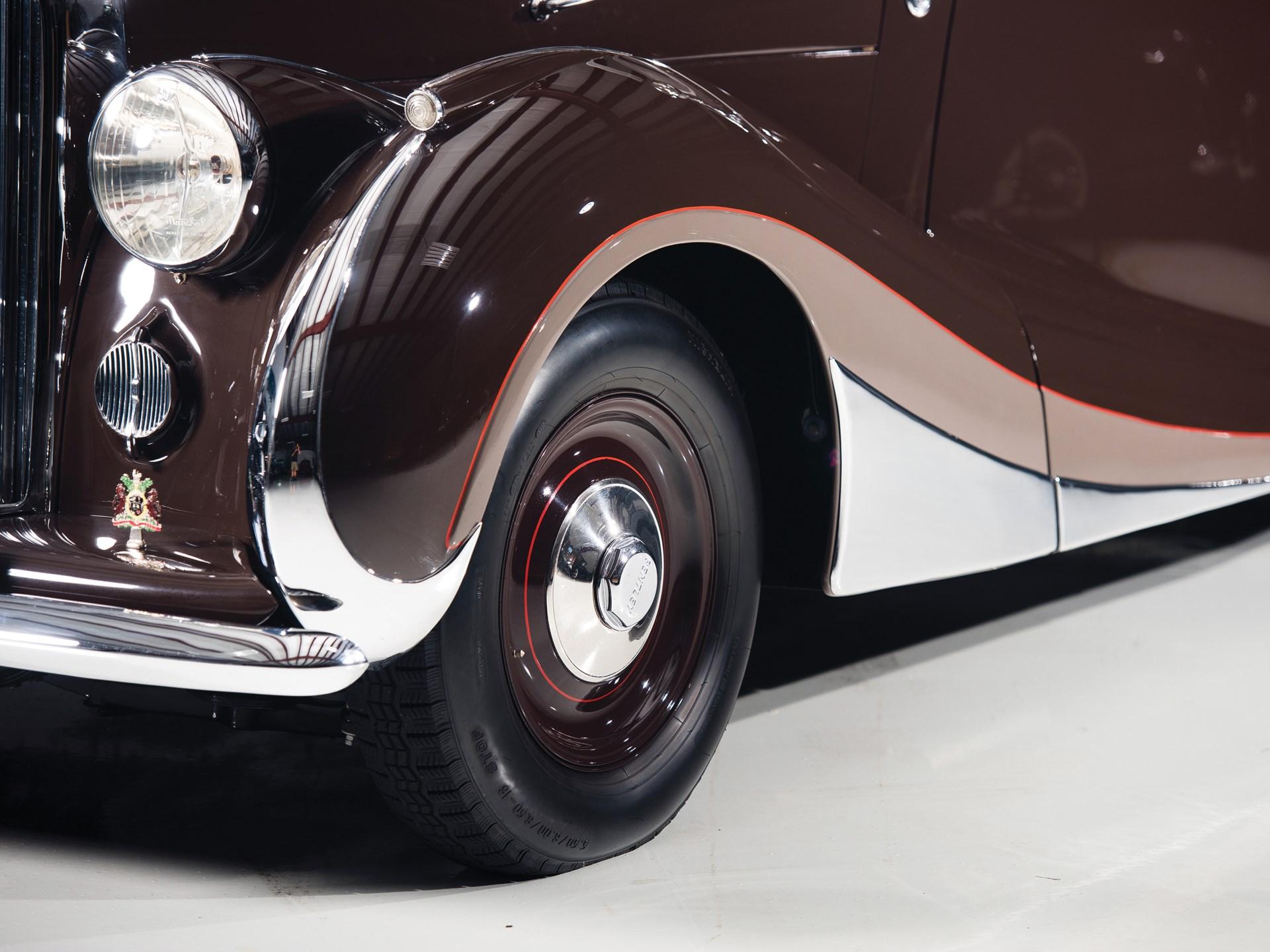 1947 Bentley Mark VI Cabriolet by Franay