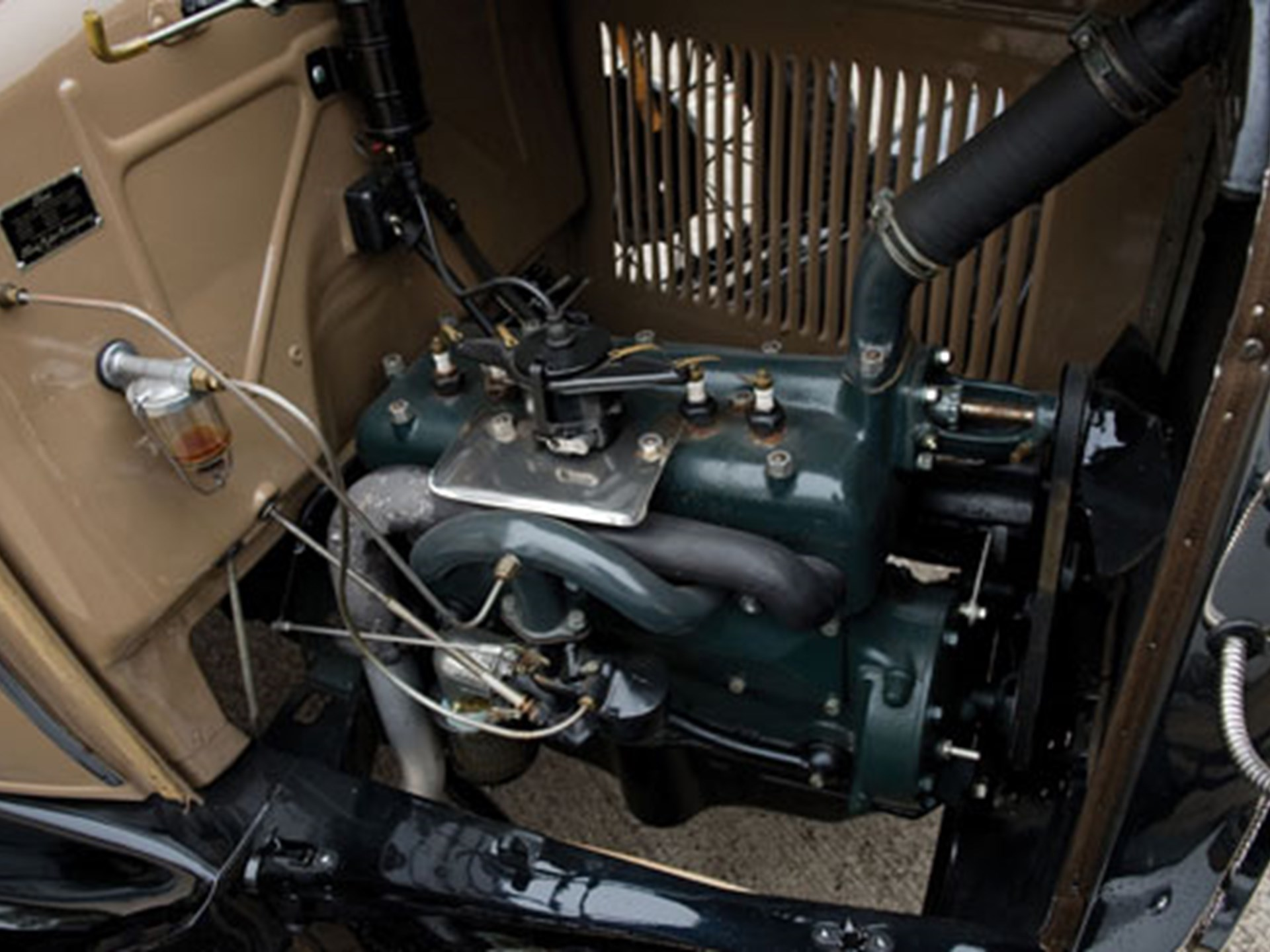 Rm Sothebys 1930 Ford Model A Station Wagon Collector Cars Of Electrical Wiring